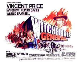 Cartel original de la película Cuando las brujas arden (Witchfinder General)