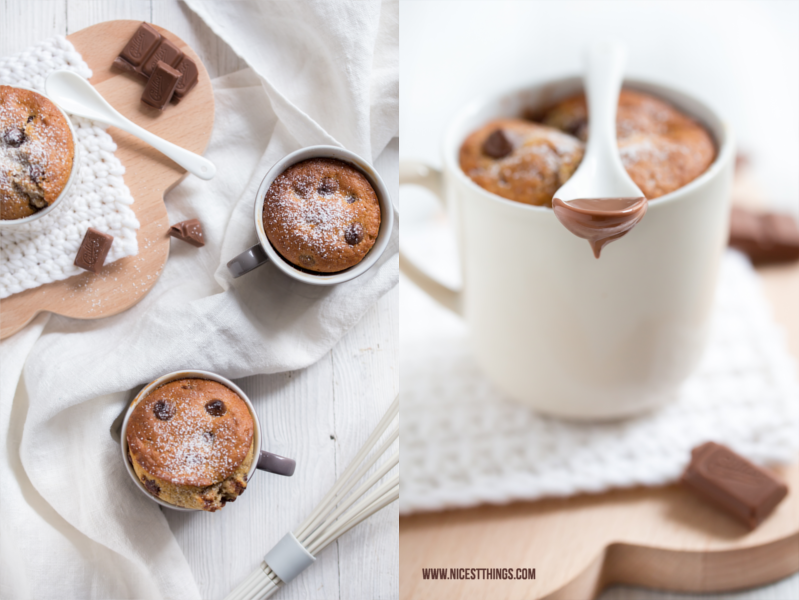 Tassenkuchen Rezept Schoko Chai Mug Cake