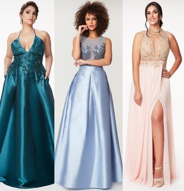 vestido longo 2019