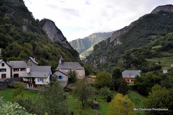 Vistas desde Borce (Borce, Pirineo Francés)