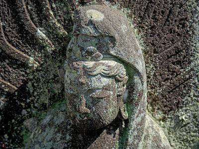 Stone image of Kannon Bosatsu: Engaku-ji