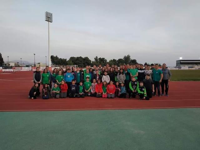 Οι επιτυχίες του Αριστέα Άργους στο Στίβο συνεχίζονται!!!!