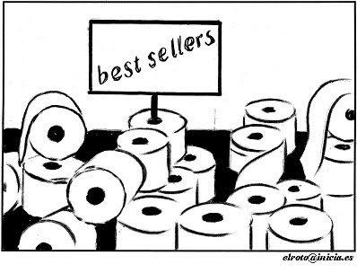 Meme de humor sobre los Best Sellers