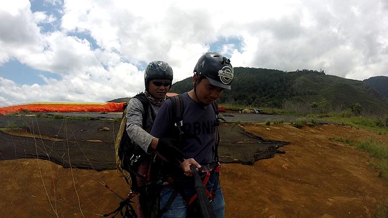 GoPro at paragliding di Ranau Sabah