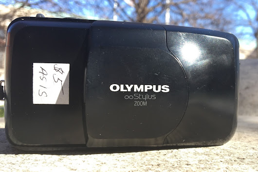 Point and Shoot Pity Party Part 4: The Olympus ∞ Stylus Zoom