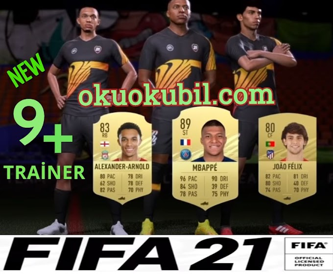 FIFA 21 Origin PC Para,Transfer +9 Trainer Hilesi İndir EKİM 2020
