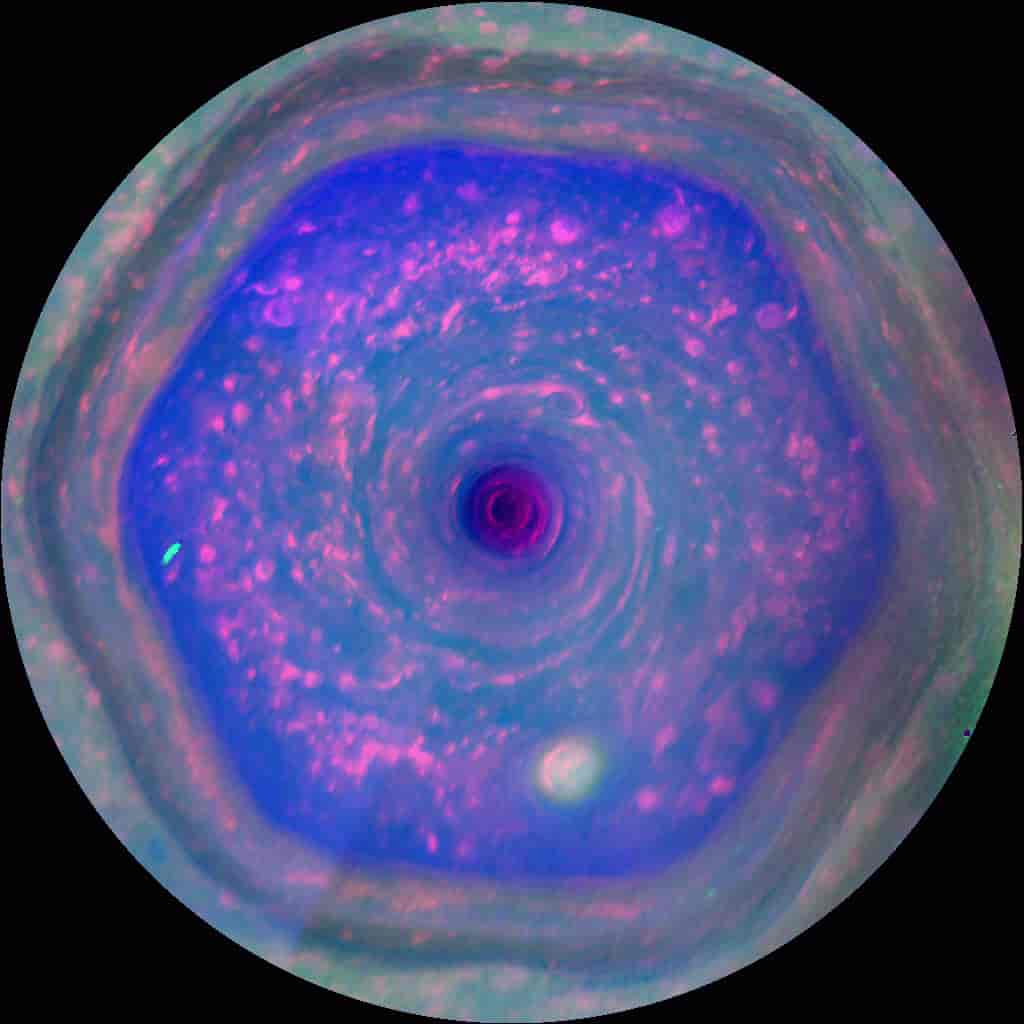North pole of Saturn