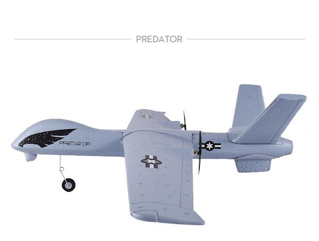 Máy bay điều khiển từ xa cánh bằng Z51 Predato_1