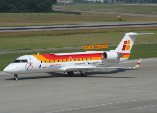 CRJ-200 of Air Nostrum / Iberia Regional