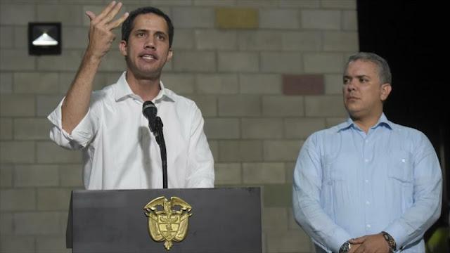 OEA pide investigar a enviados de Guaidó en Colombia por robo