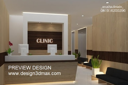 Jasa desain klinik cantik dan nyaman