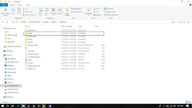 Konfigurasi Template Admin LTE dengan framework Codeigniter
