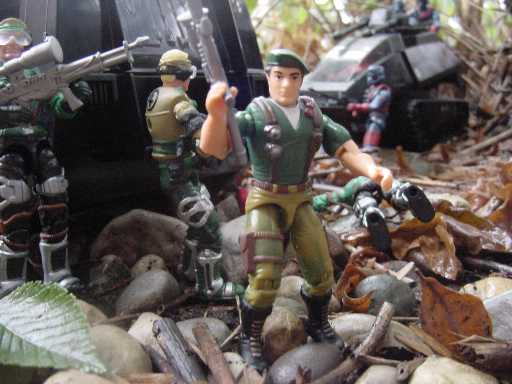2002 Convention Exclusive Paratrooper Dusty, Mirage, Night Rhino, TRU Exclusive
