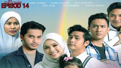 Tonton Drama Seindah Tujuh Warna Pelangi Episod 14