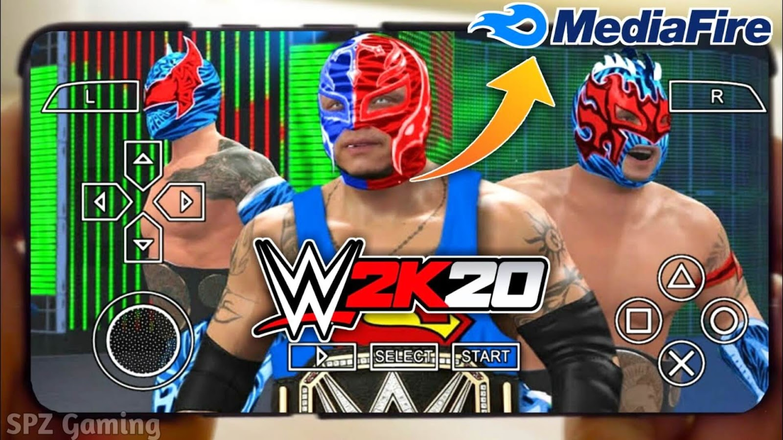How To Download Wwe 2k20 On Android 300 Mb Ppsspp Download Real Wwe 2k20 Android