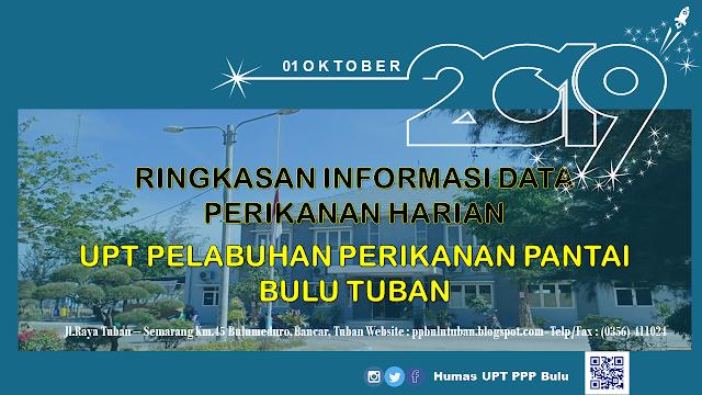 Data Perikanan PPP Bulu 1 Oktober 2019