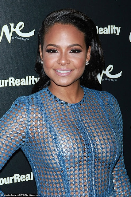 Holy Hotness!!! Christina Milian Flaunts Neepples And Her Super Curves At An Event… Causing Meltdown Online!