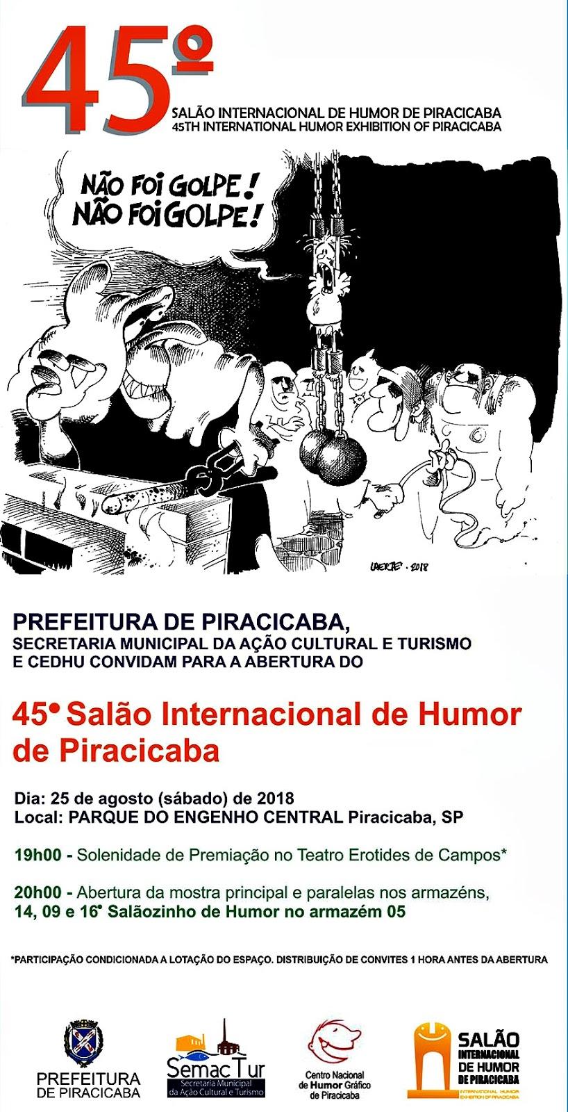 14d4d15e663a6 GUIA TURÍSTICO PIRACICABA: SALÃO INTERNACIONAL DE HUMOR DE PIRACICABA