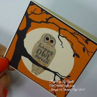 Spooky Fun Owl card