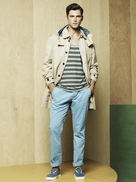 Mantomeasure What To Wear With Light Blue Chinos