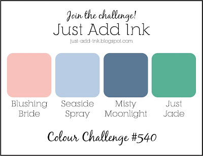 Jo's Stamping Spot - Just Add Ink Challenge #540