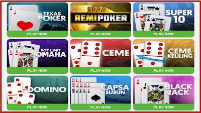 8 permainan kartu populer disitus remipoker