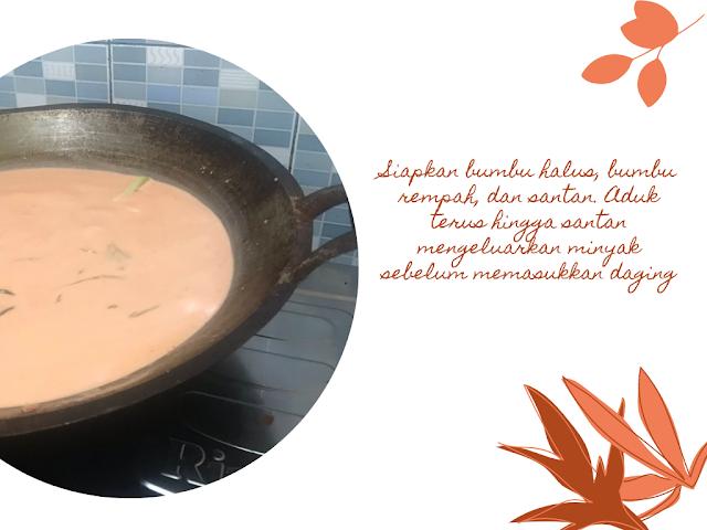 Resep memasang rendang Minang enak
