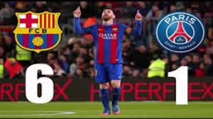مواجهات نارية برشلونة - باريس سان جيرمان دوري أبطال أوروبا 2020-2021