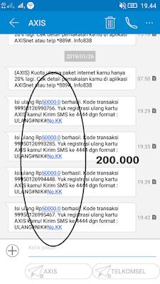 200 Ribu Pulsa Gratis dari Aplikasi Akulaku Android