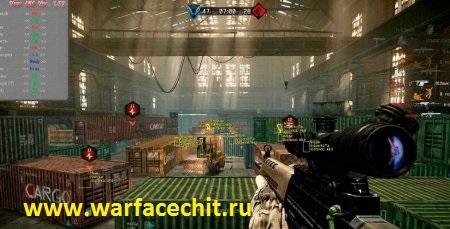 Новый чит wallhack (ВХ) для WarFace