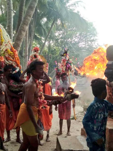 Danda Nata at Taratarini Temple
