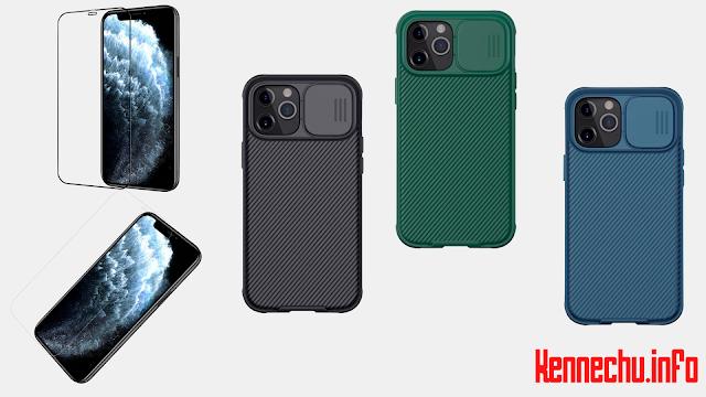 網店獨家優惠:Nillkin 滑蓋鏡頭保護殼、防爆玻璃保護貼 iPhone 12 系列