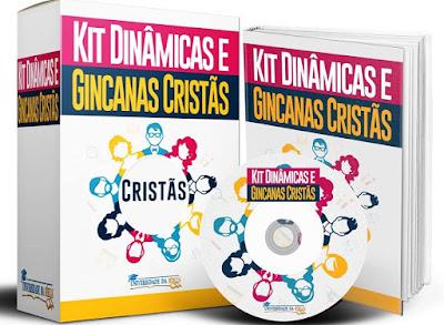 Kit Dinâmicas e Gincanas Cristãs