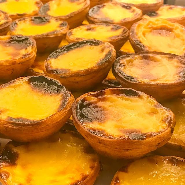 Pasteis de Nata at the Time Out Market Lisbon