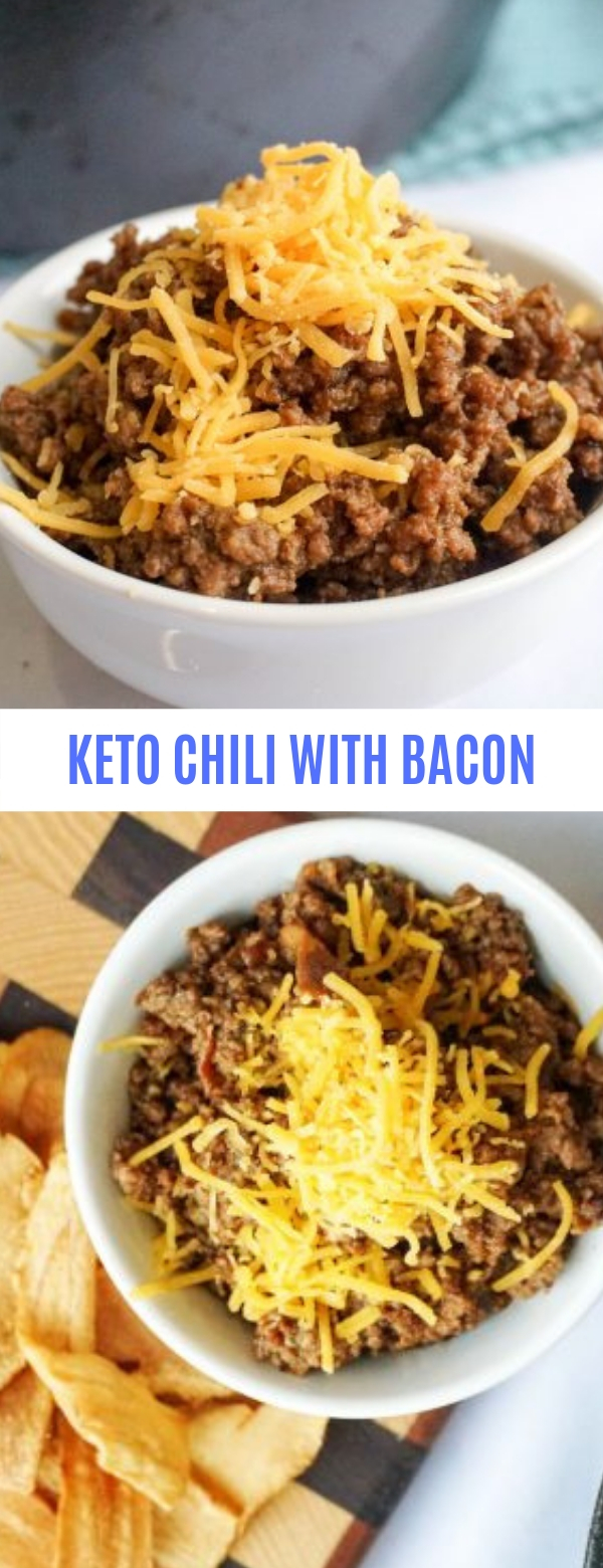 KETO CHILI WITH BACON
