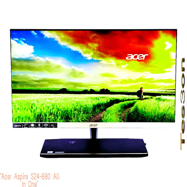 """أفضل كمبيوتر لتصميم الجرافيك """"Acer Aspire S24-880 All In One"""""""