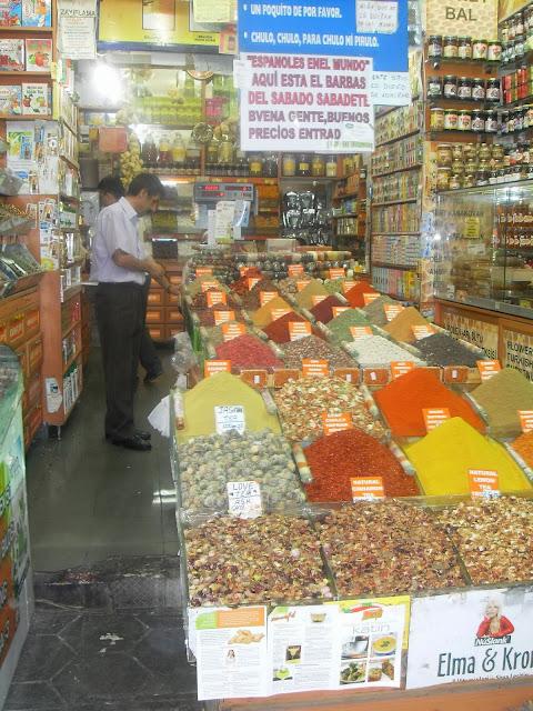 mercado de especias estambul