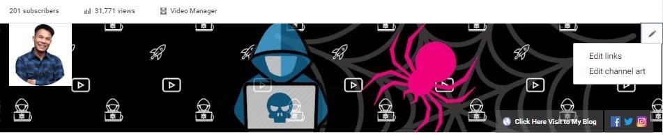 youtube channel optimization channel art