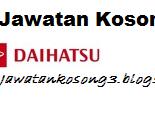 Jawatan kosong Daihatsu (Malaysia) Sdn Bhd Tarikh tutup 13 Oktober 2017