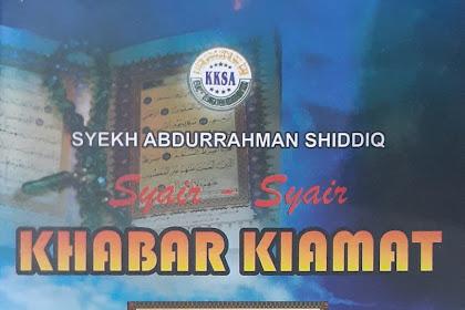 Syair Ibarat Khabar Kiamat dan Sejarah Tuan Guru Sapat, Sastra Lisan Indragiri Hilir
