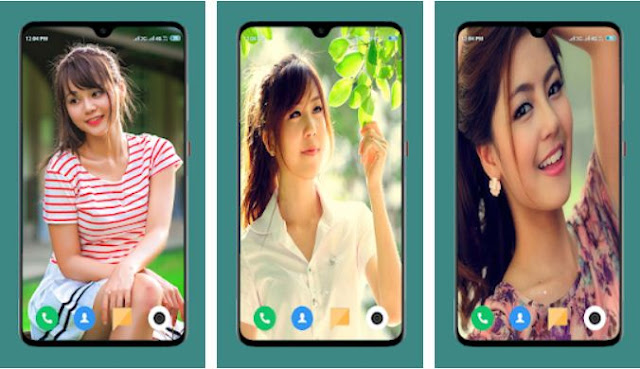 Beautiful Girls Wallpaper Gratis Terbaru