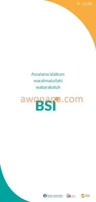 Tampilan Utama BSI Mobile