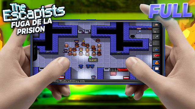 The Escapists: Fuga de la Prisión (FULL) v626294 Para Teléfonos Android [Apk]