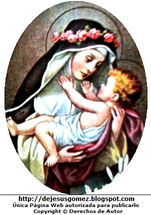 Santa Rosa de Lima cargando al niño Jesus. Foto de Santa Rosa de Lima tomada por Jesus Gómez