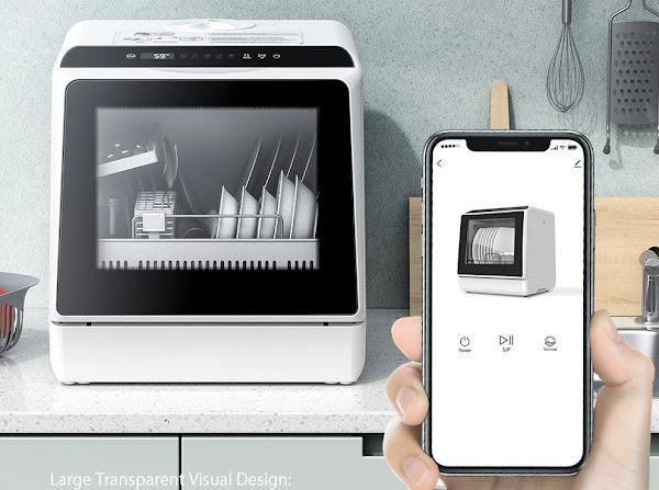 BlitzWolf®BW-CDW1 - Uma máquina portátil de lavar loiça