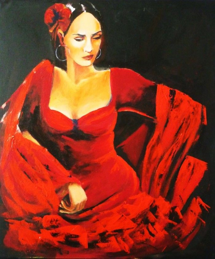 Эфемерные образы женщин. Susana Zarate