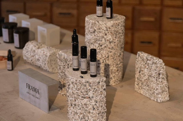 a visit to the design store Frama in Copenhagen fragrance