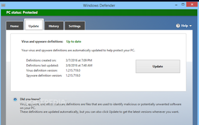 Windows Defender Definition Updates 1.243.334.0 Free Download