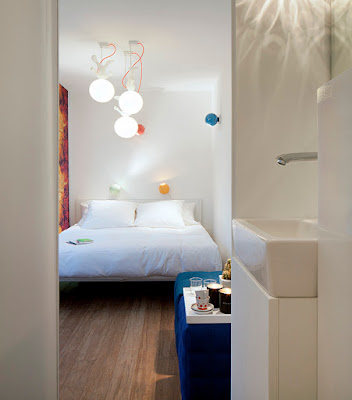 Green Pear Diaries, interiorismo, retail, pop up hotel, Sleeping Around, Amberes, Bélgica