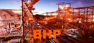 Australia ASX: BHP BHP Billiton stock price chart